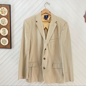 NWT J Crew Cotton 3 Button Sports Coat Blazer
